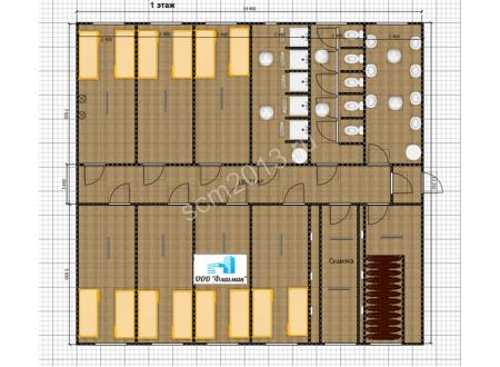 Гостиница для ИТР