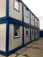 Модульные общежитие из блок контейнеров