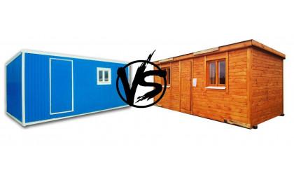 Какие бытовки лучше - деревянные или металлические?