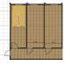 Двухэтажный  модульный офис из 6 шт блок контейнеров