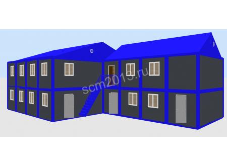 Модульное здание для ИТР