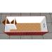 Блок контейнер  СБК-201, СБК-202  из сэндвич  пенополистирола  80мм