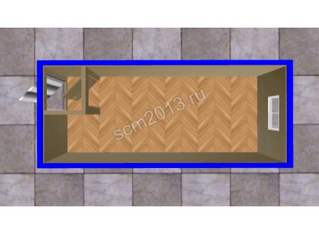 Блок контейнер БК-01 Стандарт