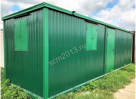 Блок контейнер 8м зимний