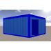 Офисный модуль в синей профлисте